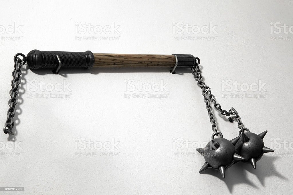 double mace stock photo