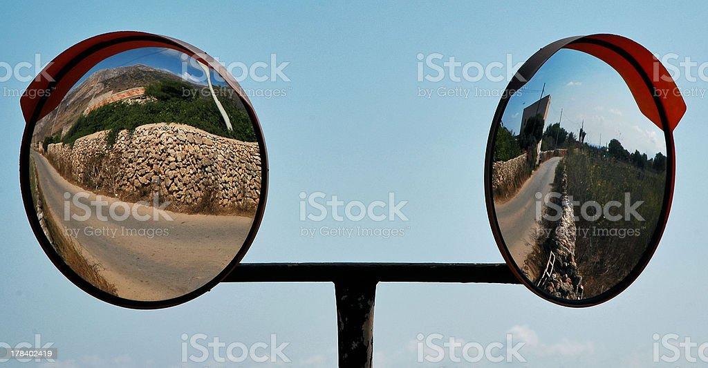 double mirror royalty-free stock photo