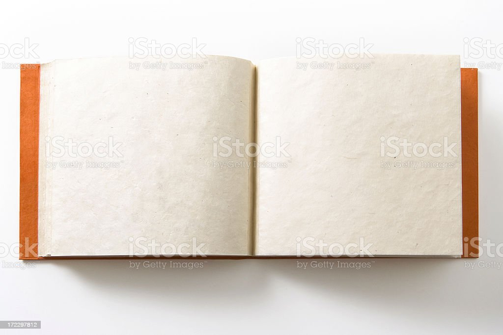 Double page album stock photo