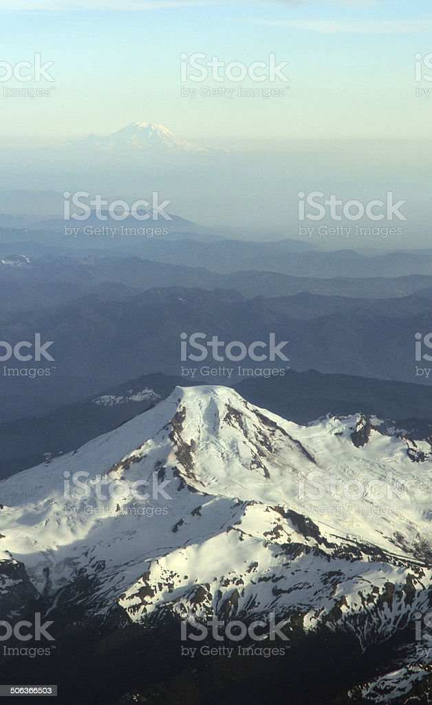 Double Peaks royalty-free stock photo