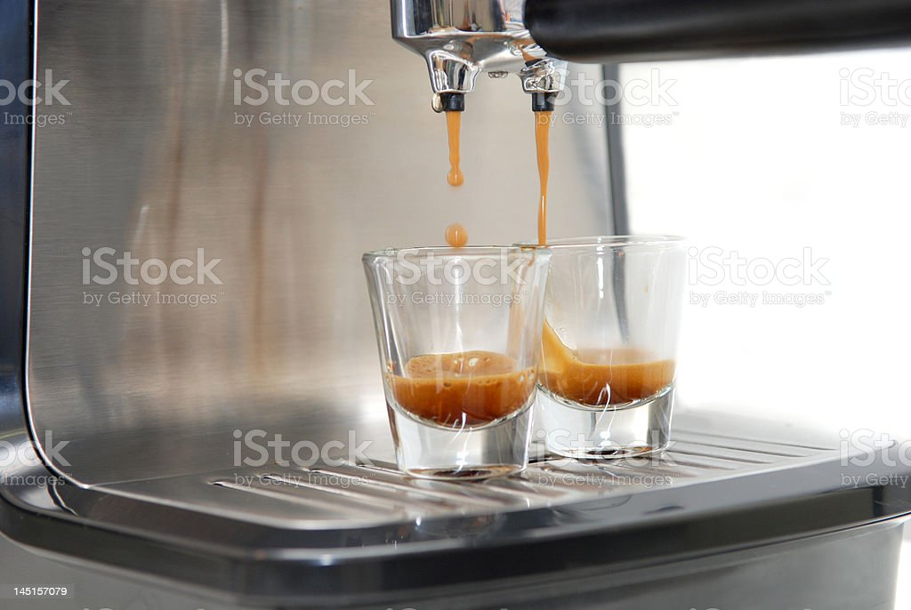 Double Shot royalty-free stock photo