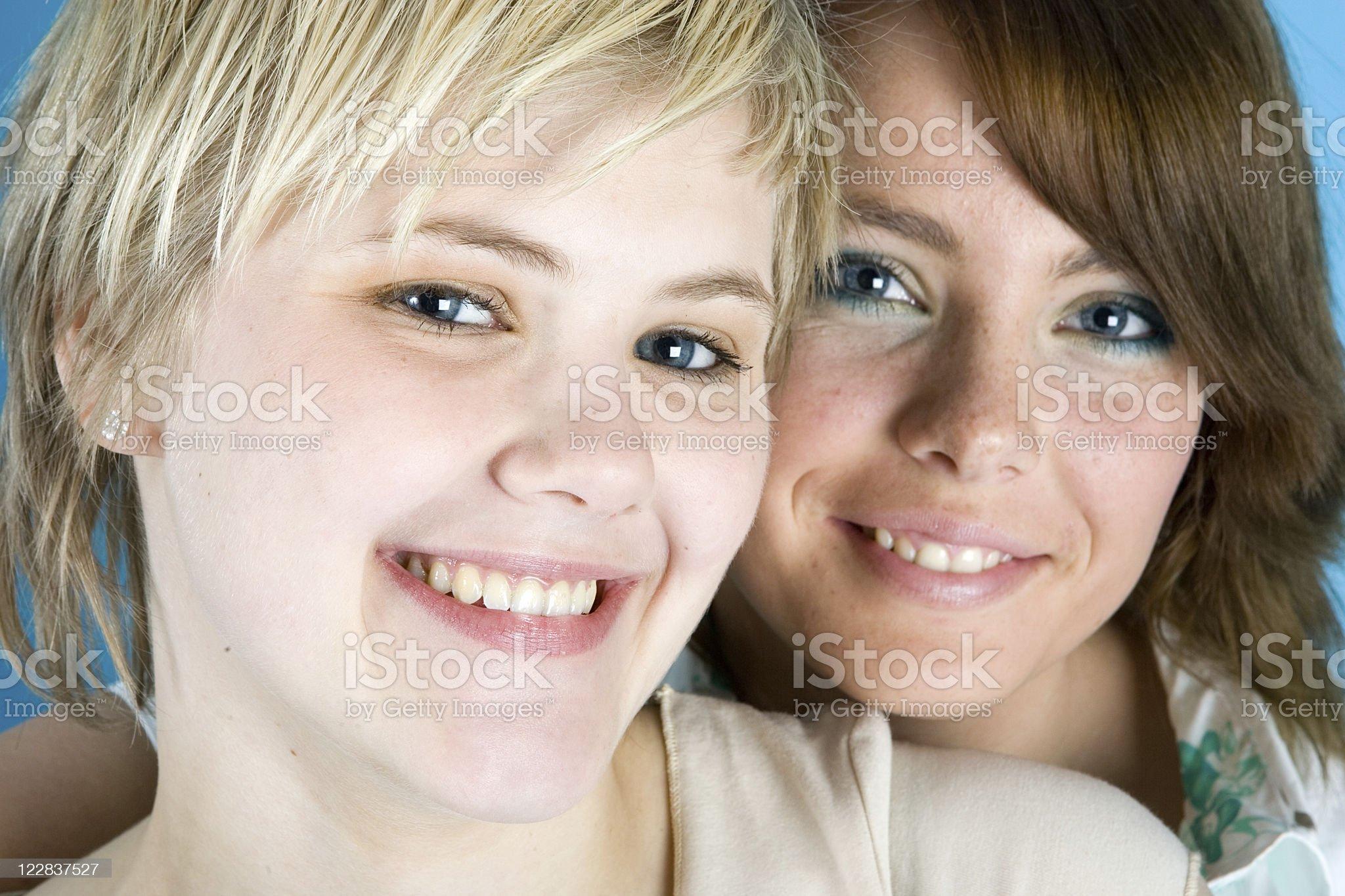 double smile royalty-free stock photo