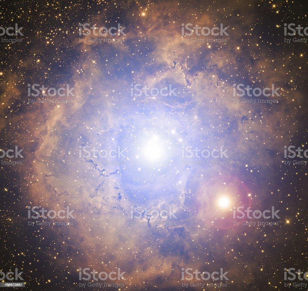 Double Solar System royalty-free stock photo