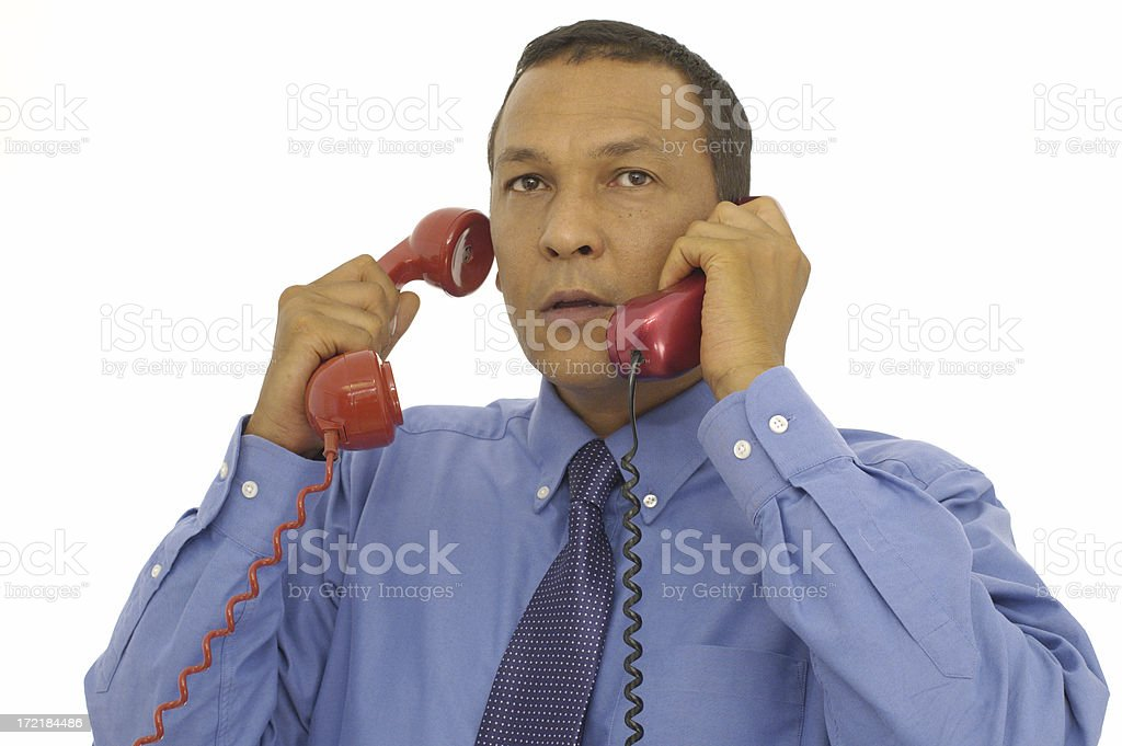 double talk royalty-free stock photo
