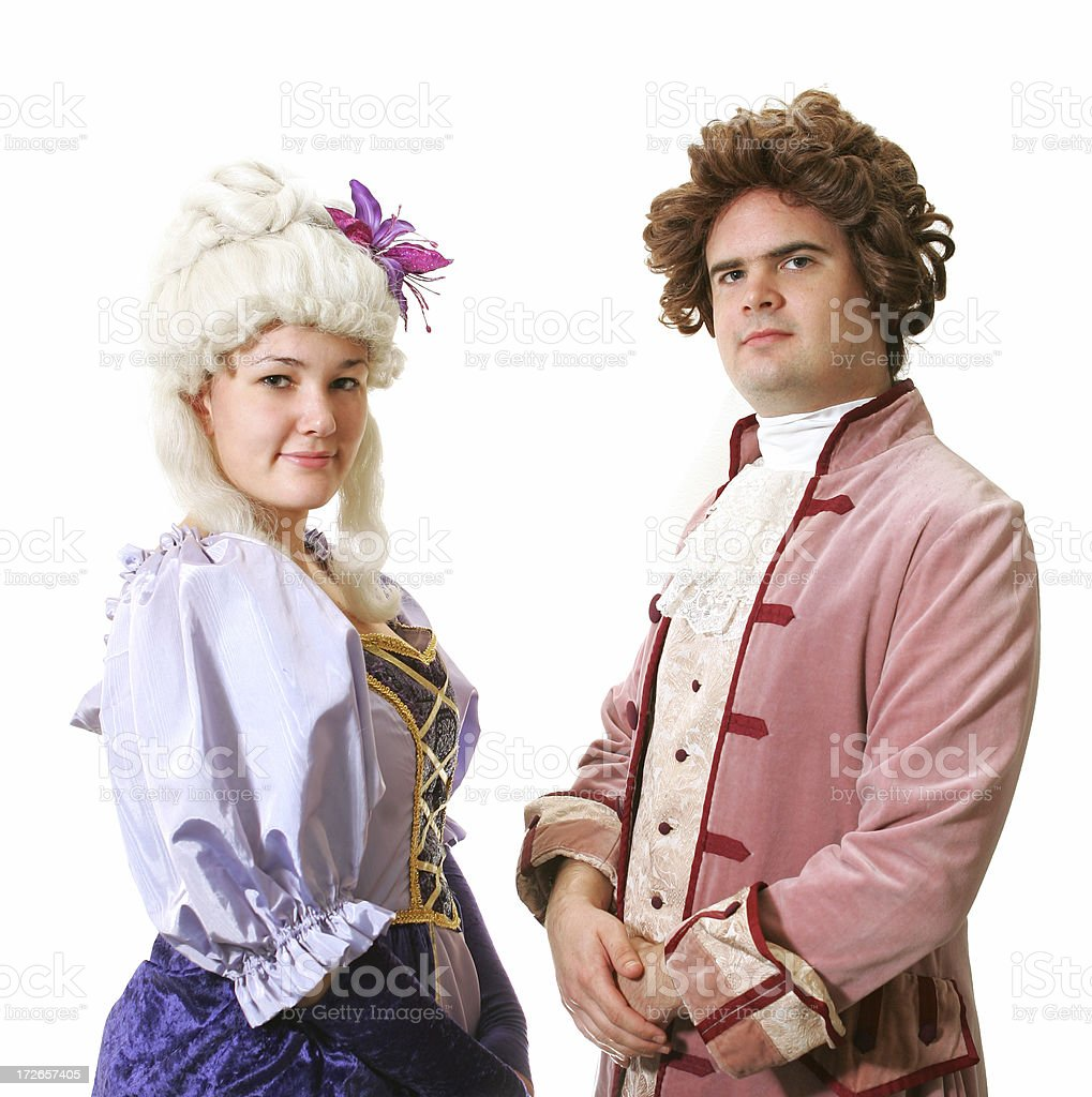 Double the Costumes stock photo