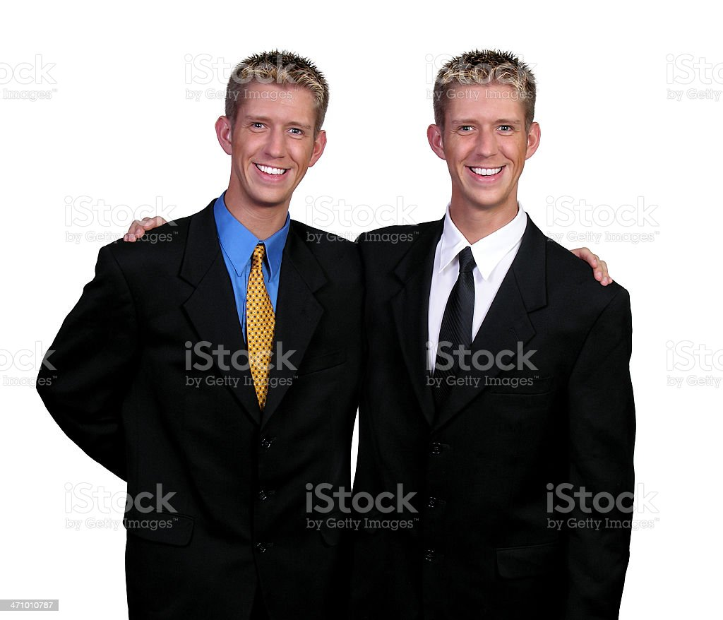 Doubled royalty-free stock photo