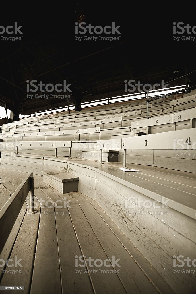 Doubleday Field baseball diamond royalty-free stock photo