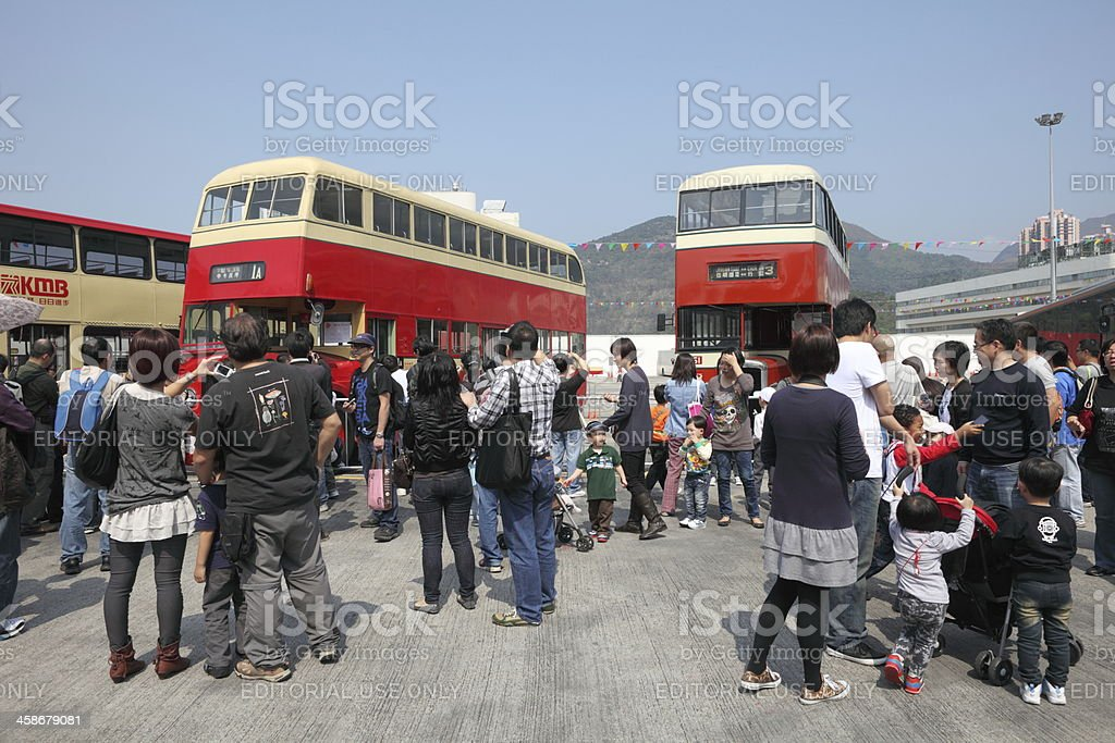 Double-Decker Bus royalty-free stock photo