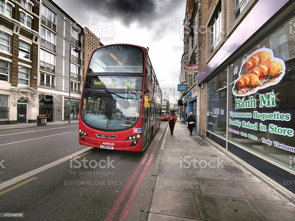 Double-Decker royalty-free stock photo