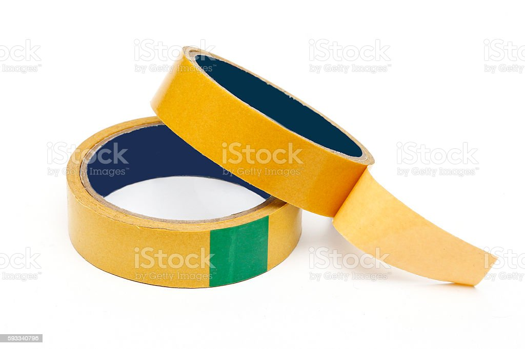 Double-sided tape stock photo