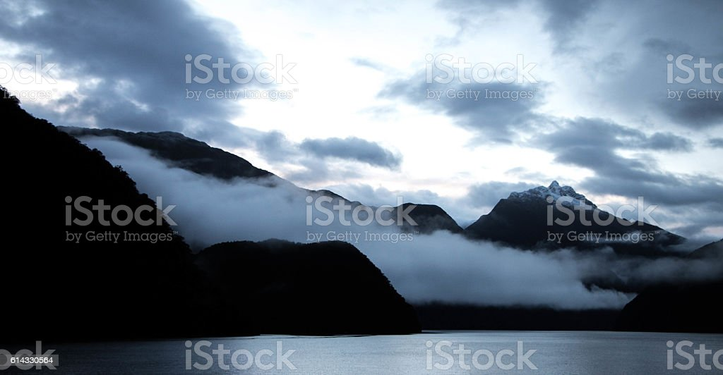 Doubtful Sound stock photo