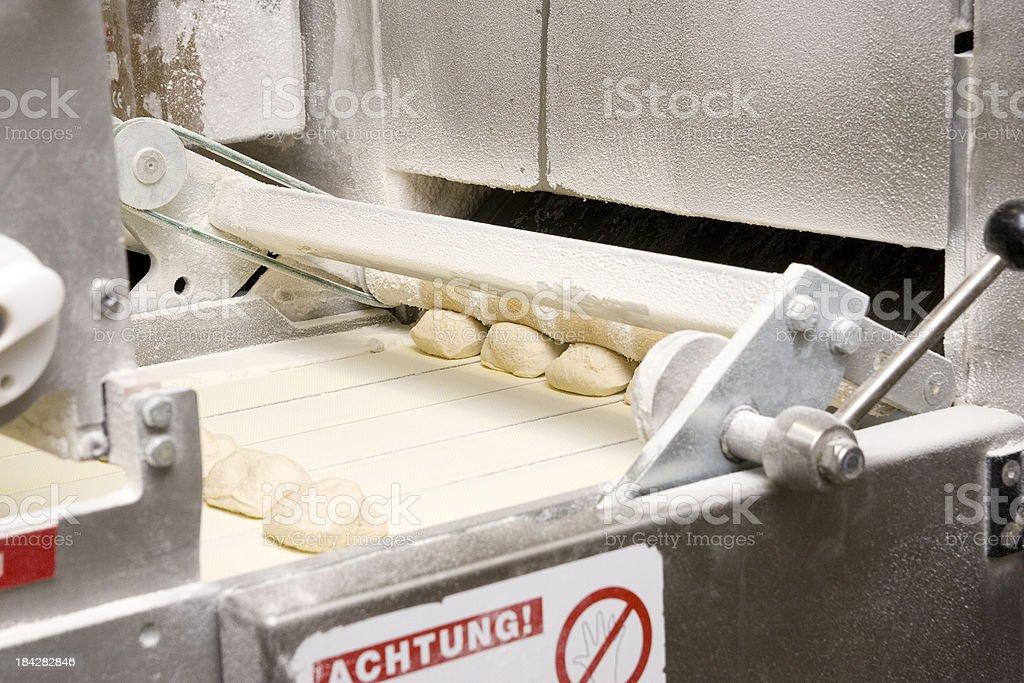 Dough Forming Machine stock photo