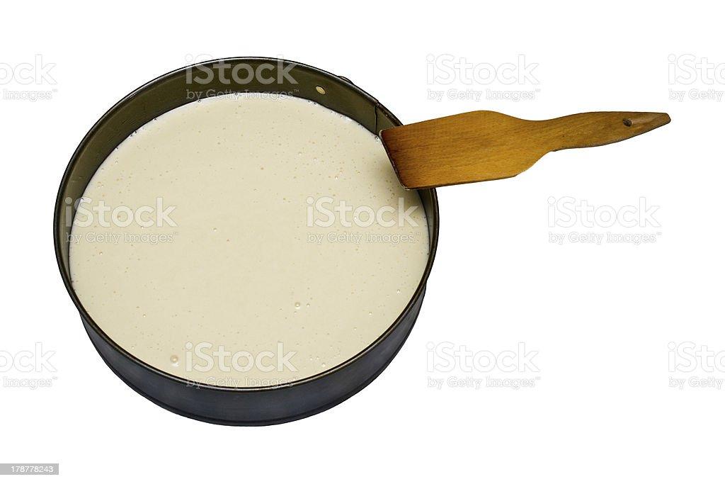 Dough. royalty-free stock photo