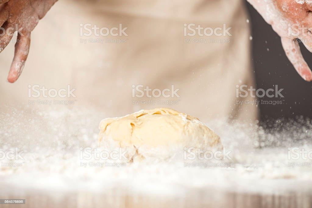Dough stock photo