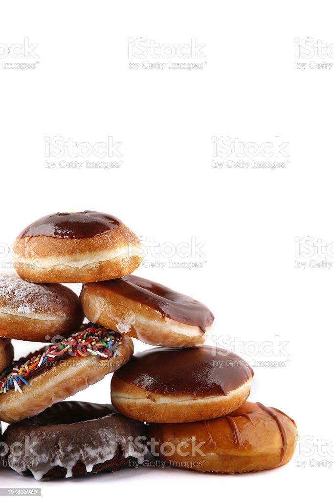 doughnut pyramid royalty-free stock photo