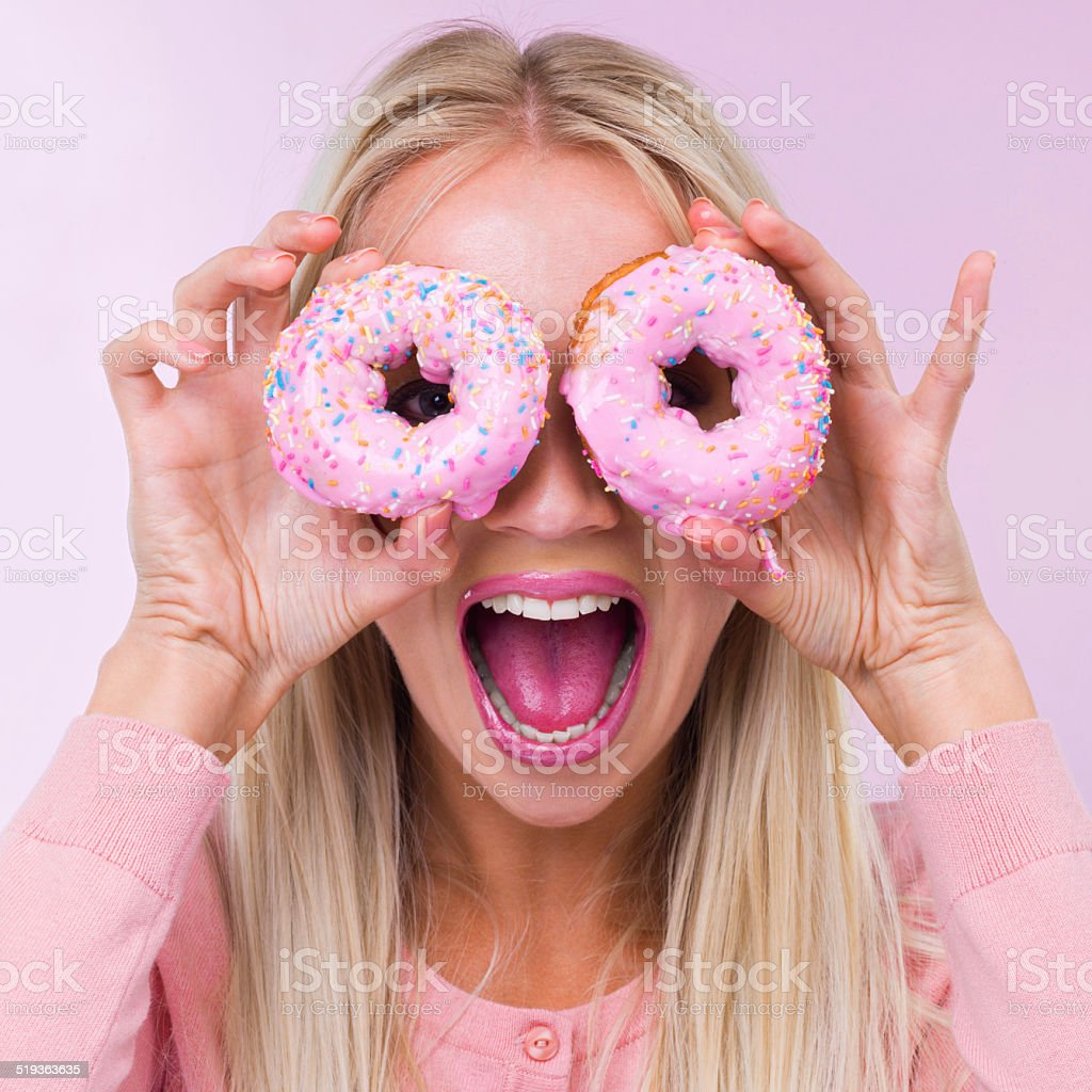 Doughnuts! stock photo
