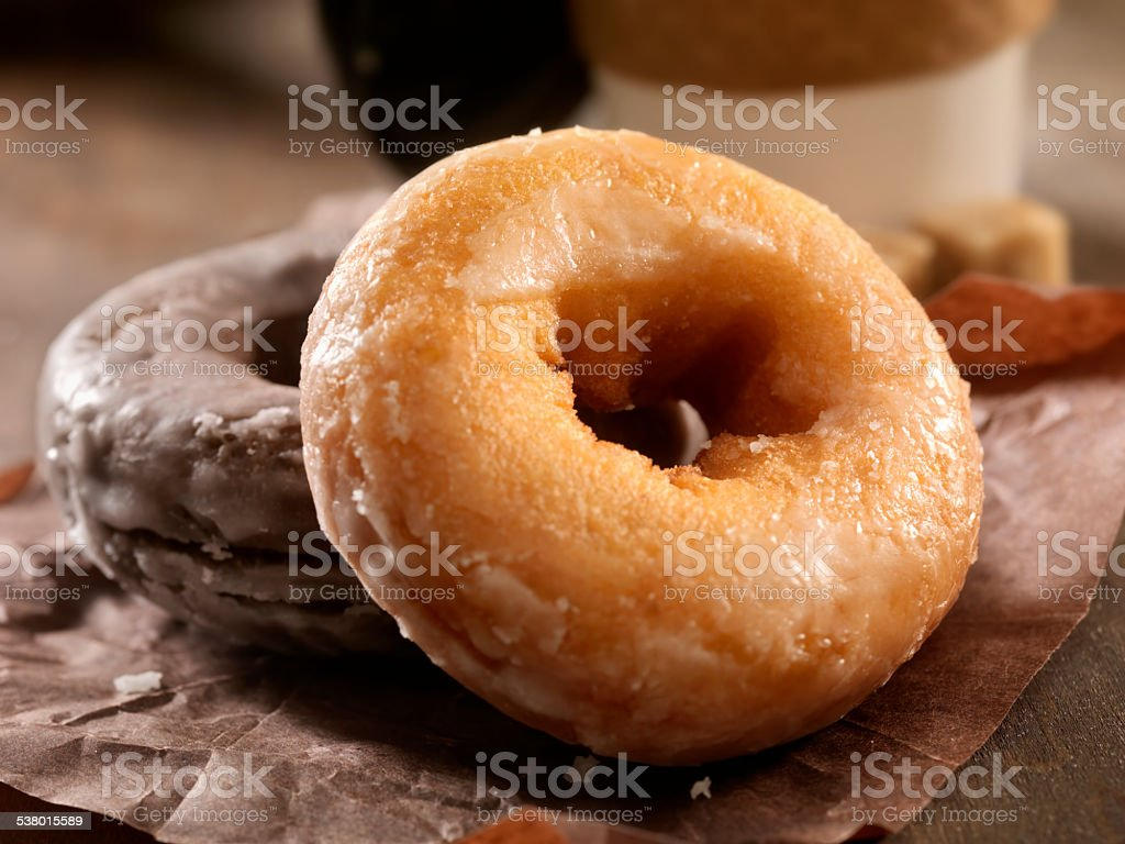 Doughnuts stock photo