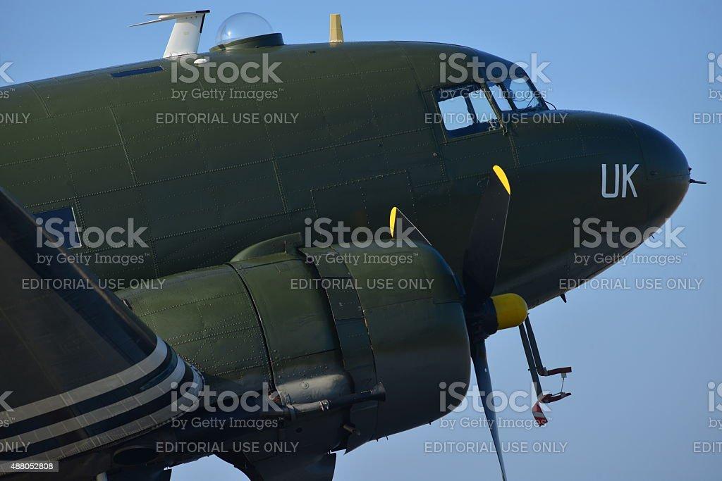 Douglas Dakota DC3, U.K. stock photo