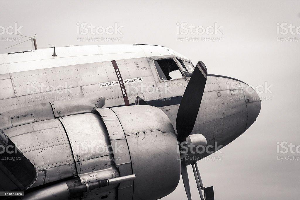 Douglas DC-3 stock photo