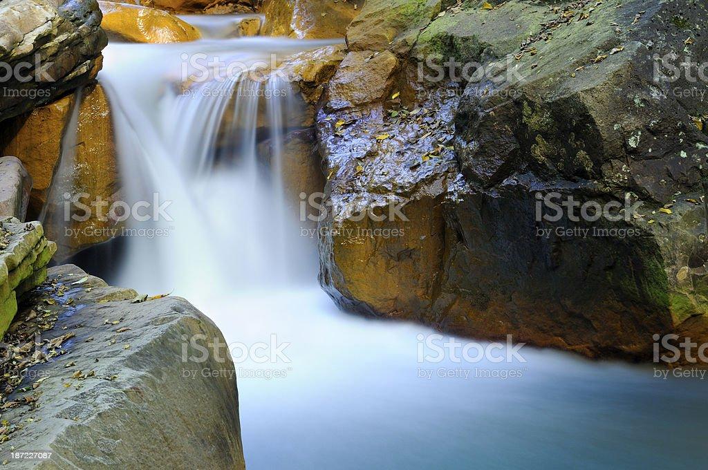 Douglas Falls - Long Exposure stock photo