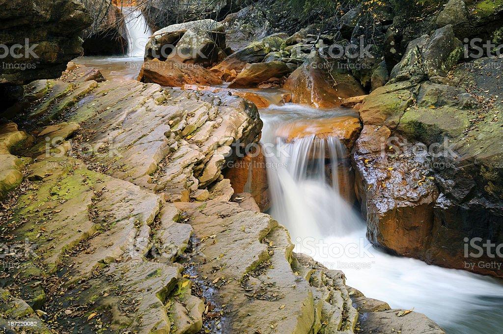 Douglas Falls - West Virginia stock photo