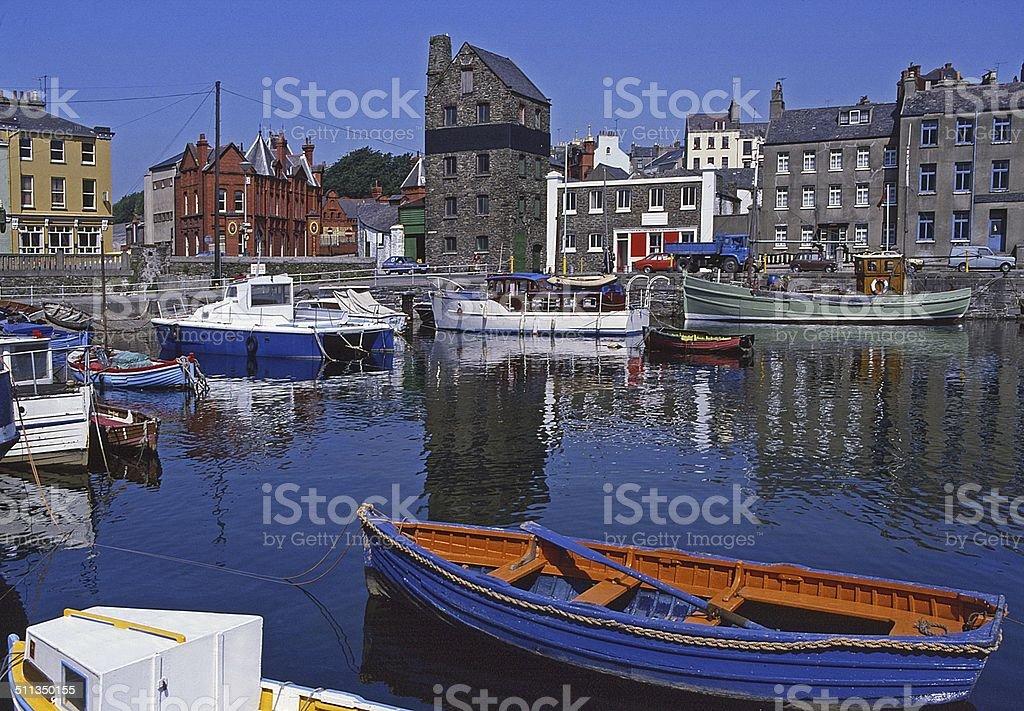 Douglas Harbour Isle of Man stock photo