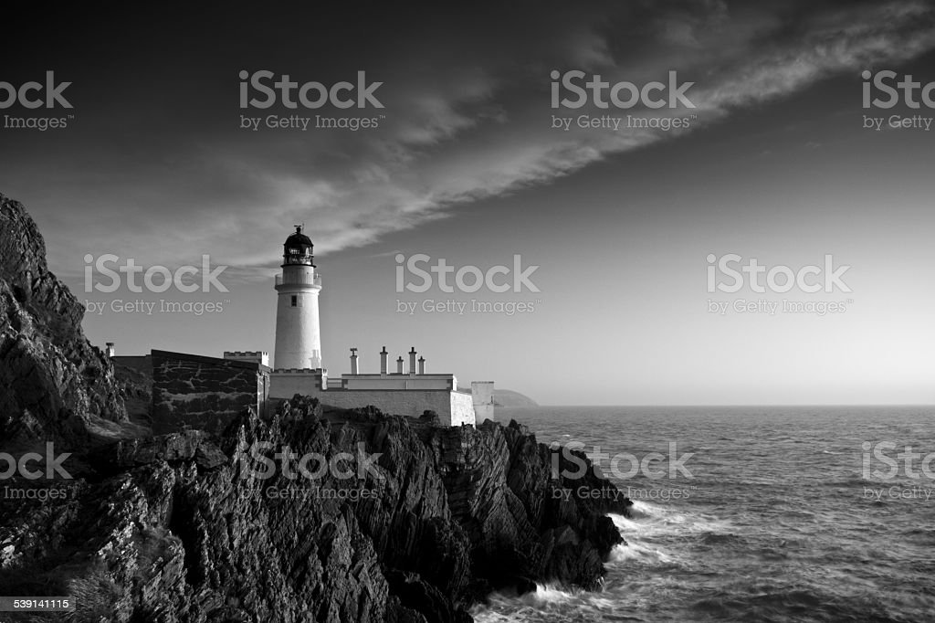 Douglas Head Lighthouse stock photo
