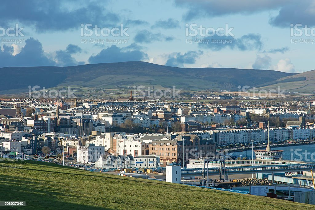 Douglas Isle of Man stock photo