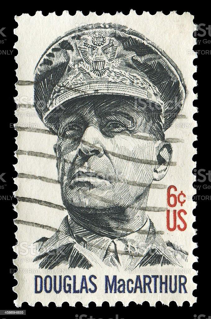 Douglas MacArthur (XXL) stock photo