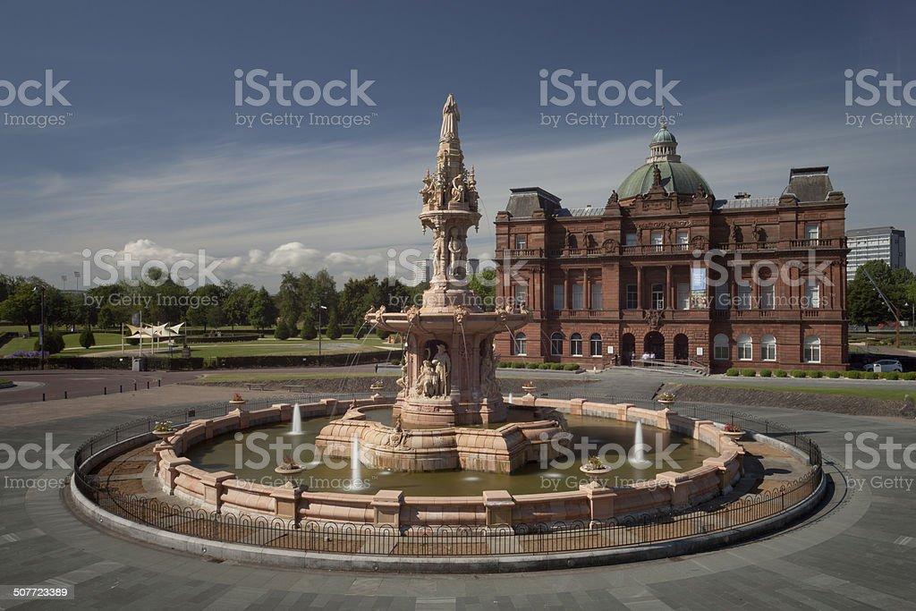 Doulton Fountain stock photo