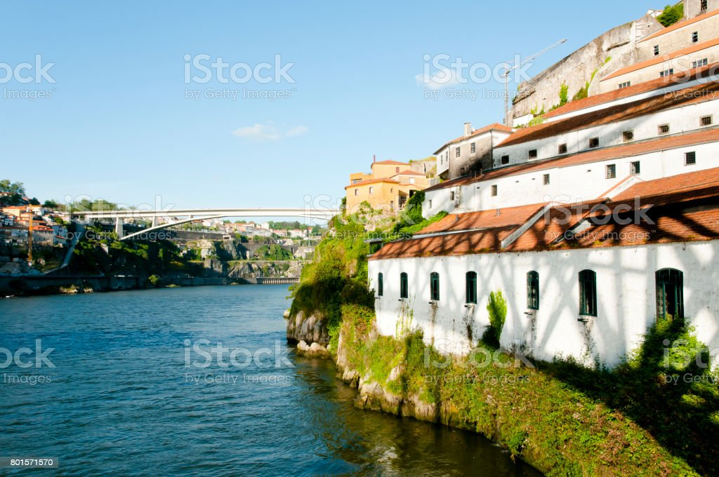 Douro River - Porto - Portugal stock photo