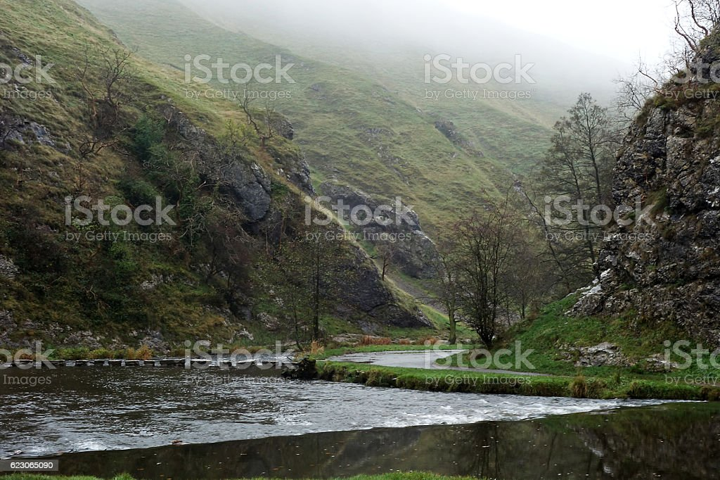 Dovedale stock photo
