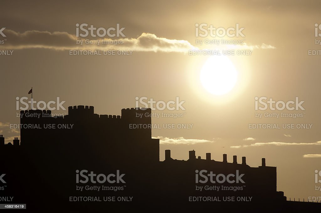 Dover Castle royalty-free stock photo