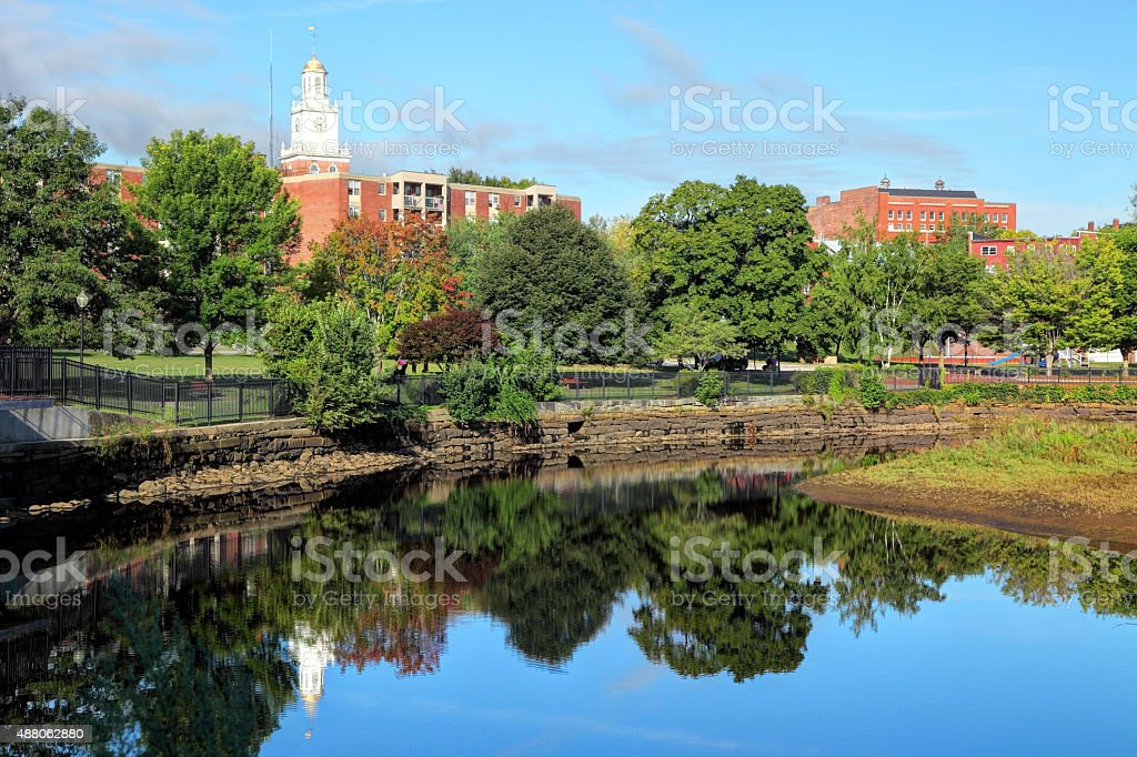 Dover, New Hampshire stock photo