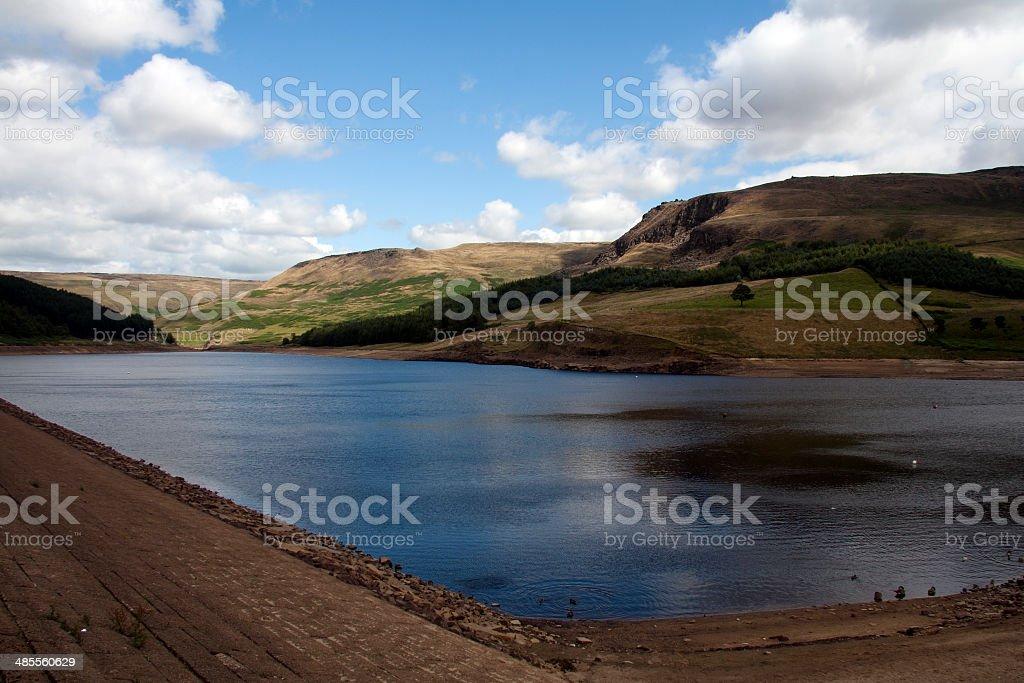 Dovestones reservoir, Greenfield stock photo