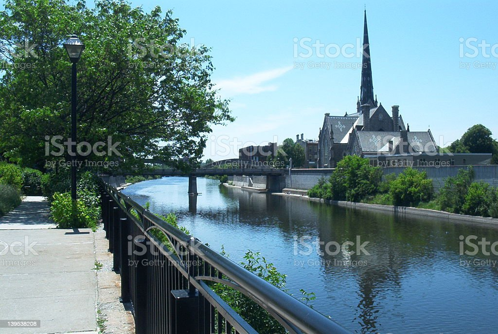 Down by the River royalty-free stock photo