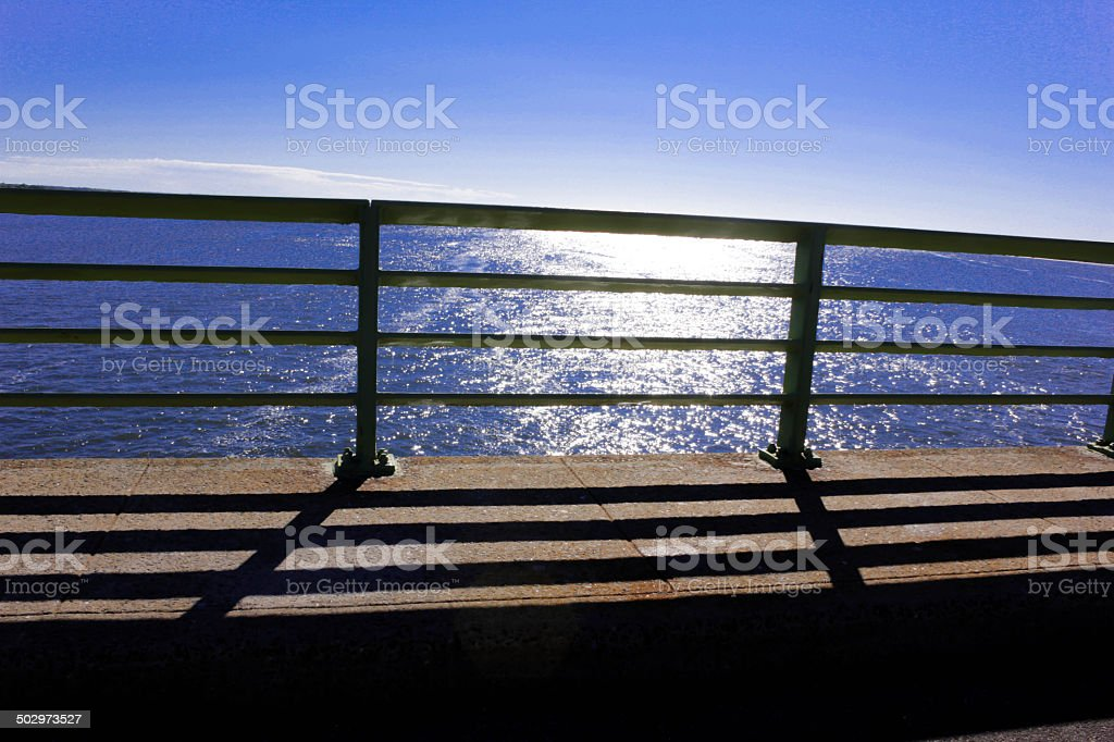 down by the sea stock photo