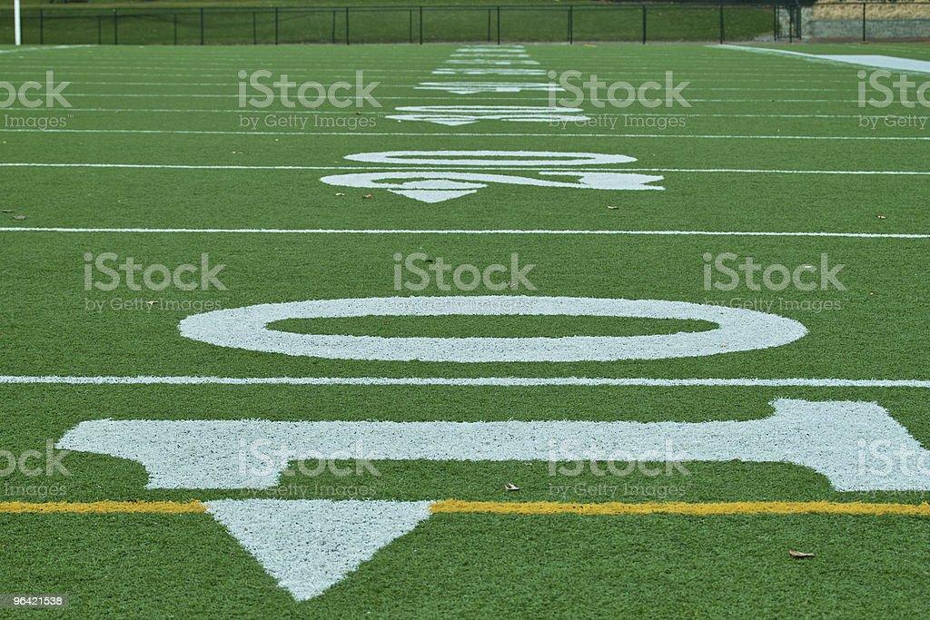 Down Field stock photo