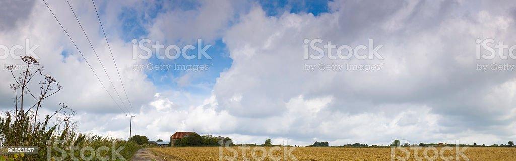 Down on the farm royalty-free stock photo