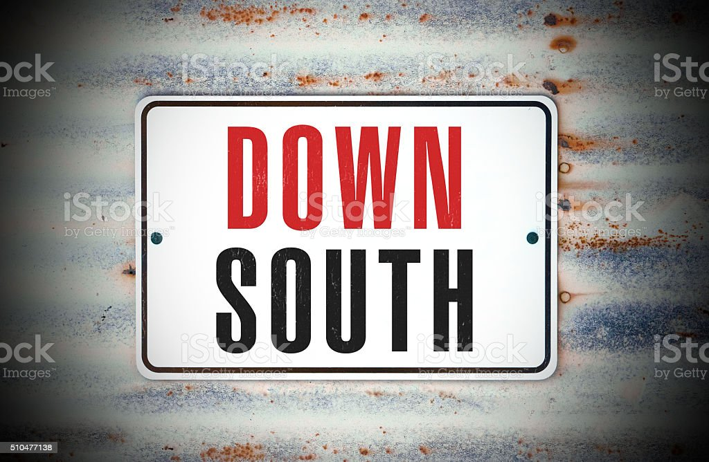 Down South stock photo
