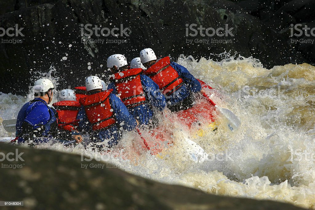 Down Stream royalty-free stock photo