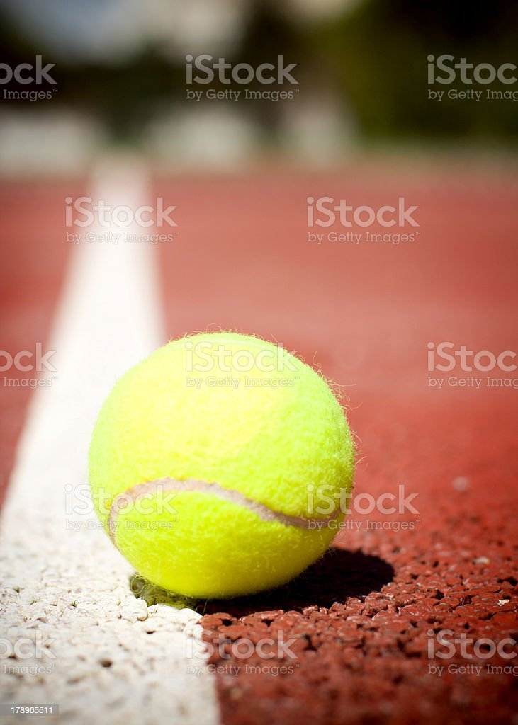 Down the Line royalty-free stock photo