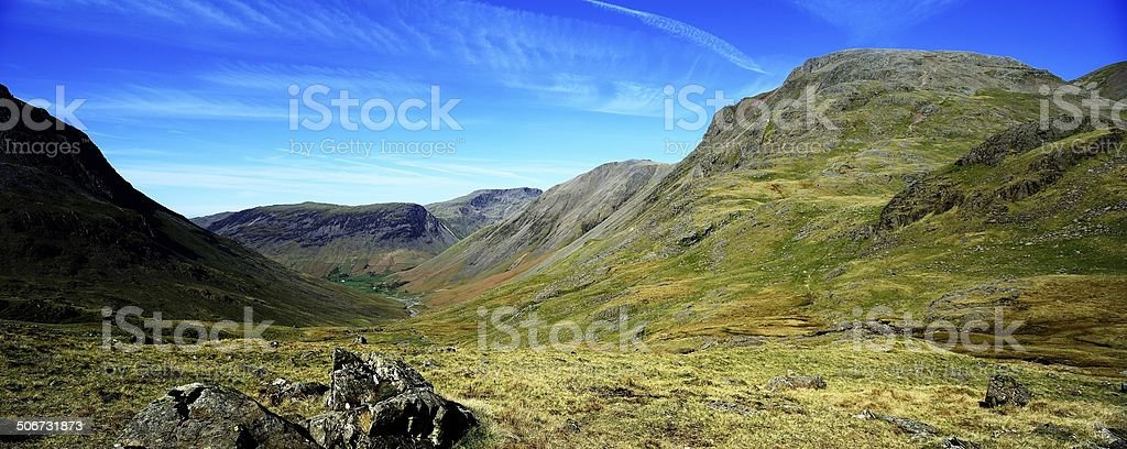 Down the Valley to Wasdale stock photo