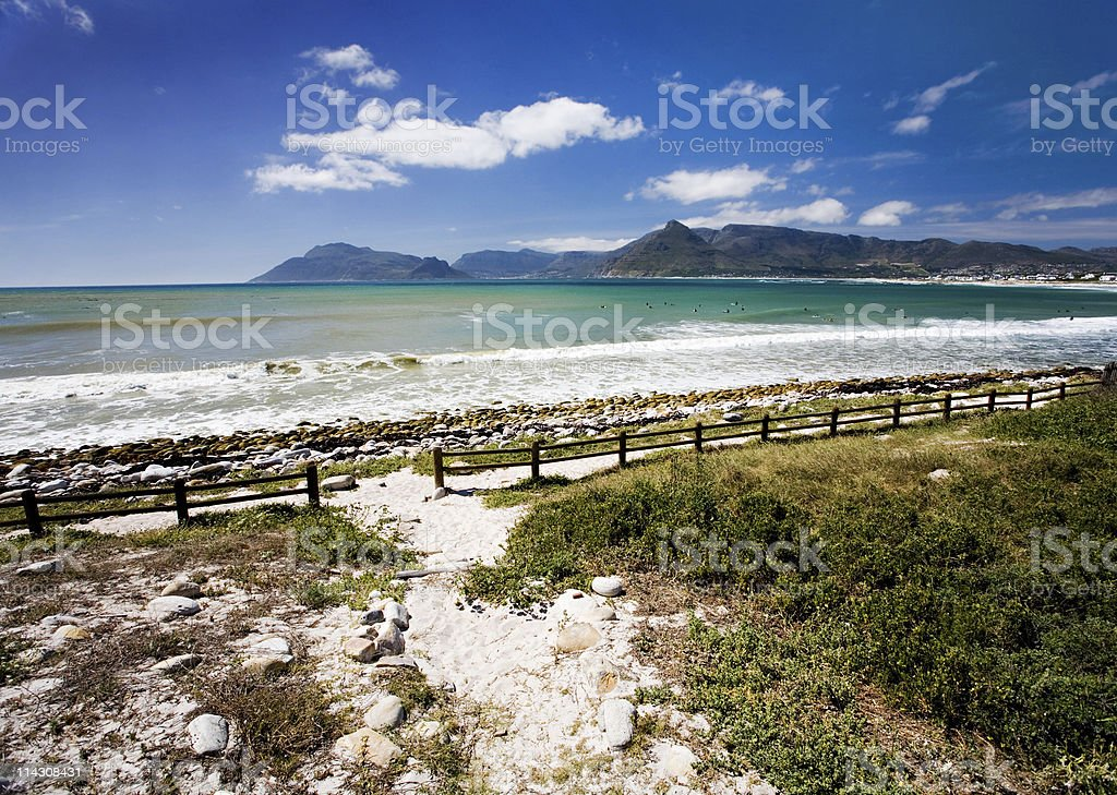 Down to the sea royalty-free stock photo