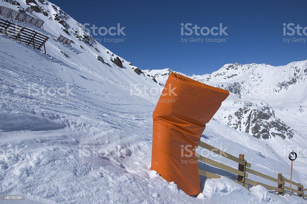 downhill stock photo
