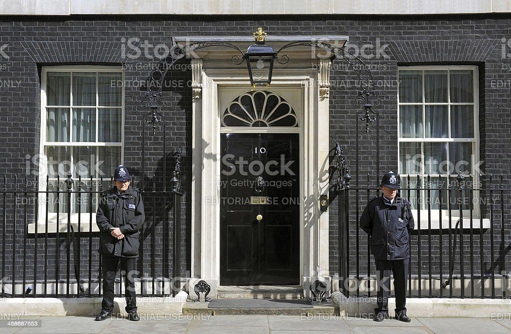 Downing Street stock photo