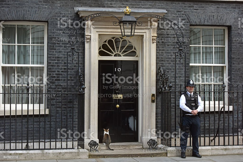 Downing Street stock photo