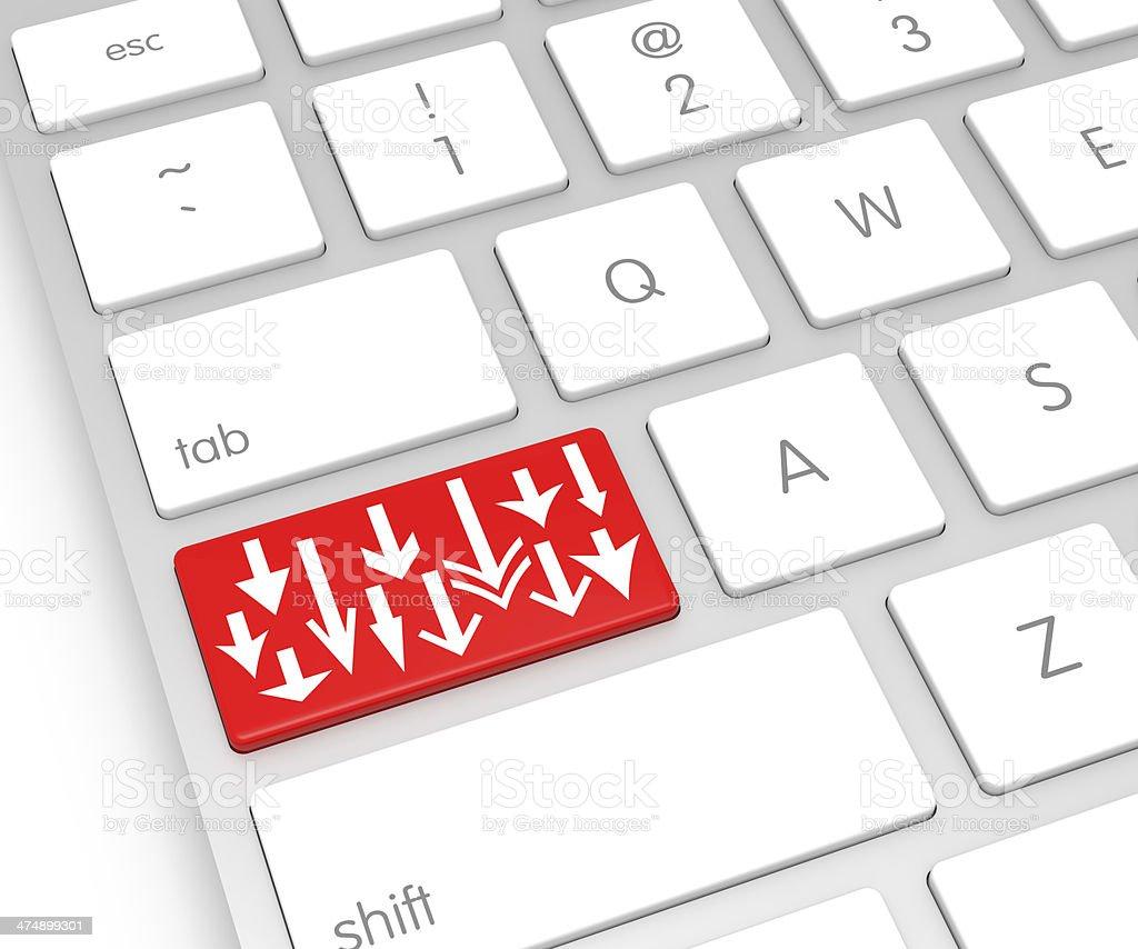 Download Computer Key stock photo