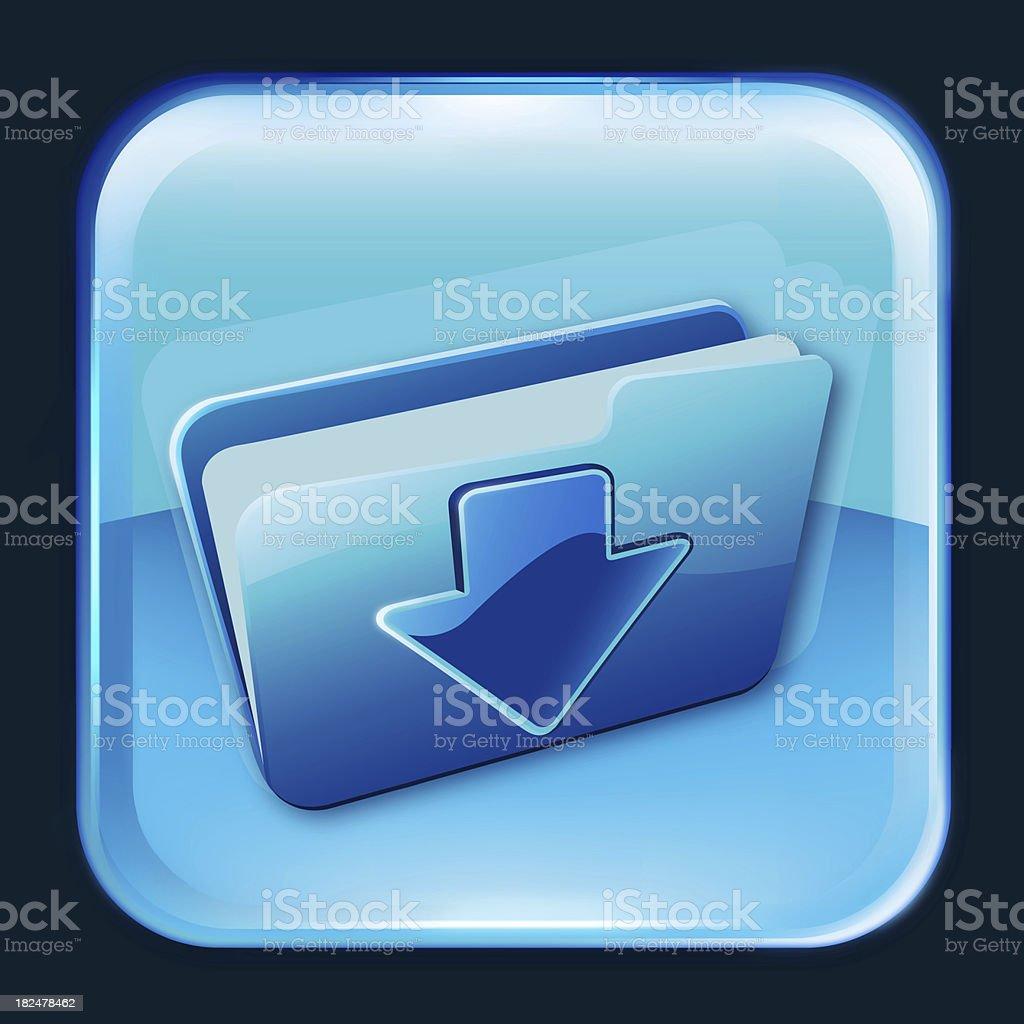 download file symbol icon royalty-free stock photo