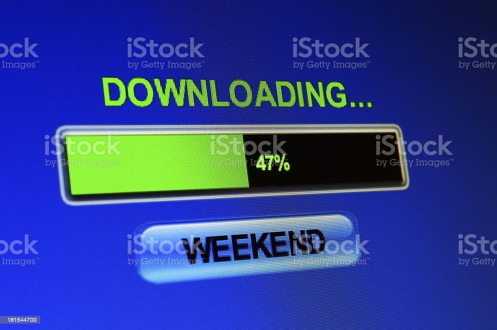 Download weekend concept royalty-free stock photo